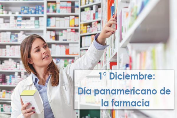 1º de Diciembre: Día Panamericano de la Farmacia