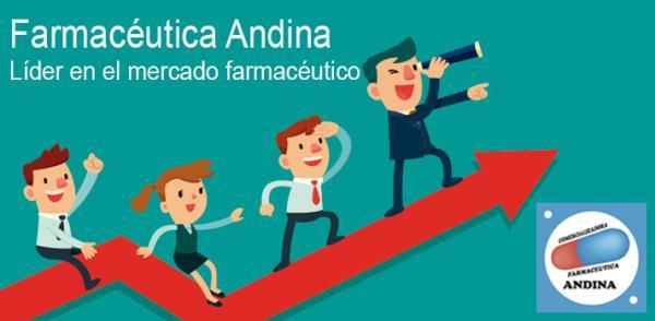 FARMACÉUTICA ANDINA, EMPRESA LÍDER EN EL MERCADO FARMACÉUTICO