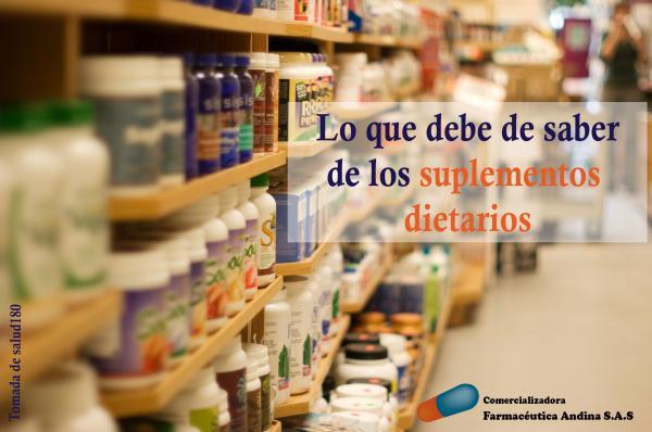 Los suplementos dietarios: Aspectos a tener en cuenta