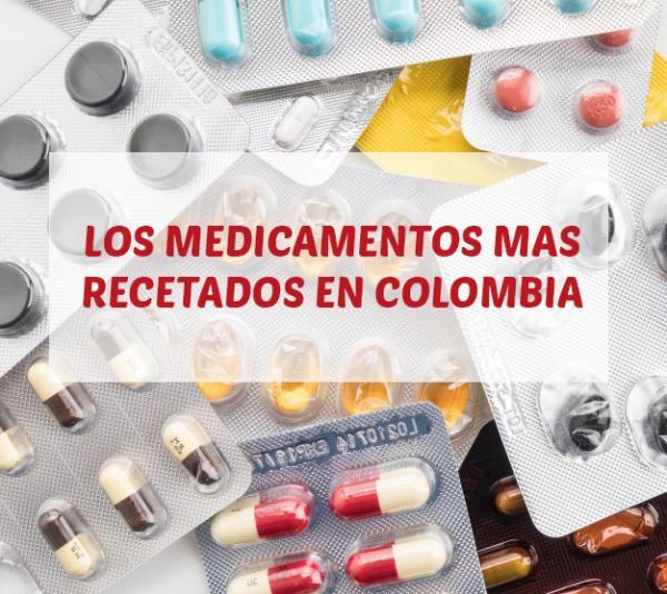 Los medicamentos más recetados en Colombia